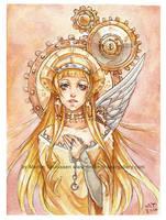 Iron Angel by bluemonika