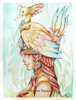 Birdie by bluemonika
