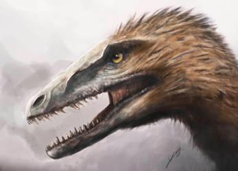 Deinonychus by LucasN13