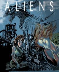 Aliens by vangell