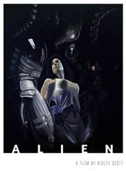Alien by vangell