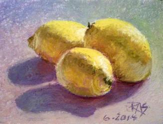 Colourful Lemons by robertsloan2