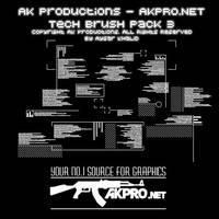 AK- Tech Brush Pack 3 by AK-Productions