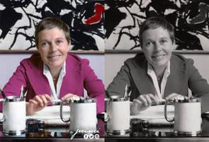 Jane Maas  - colorized by jecinci by jecinci