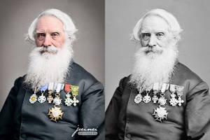 Samuel Morse - colorized by jecinci by jecinci