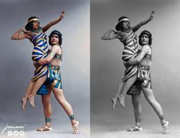 Fokin  Fokina - Cleopatra  - ballet costumes -Sto by jecinci