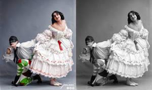 Fokin  Fokina - Carnaval- ballet costumes by jecinci