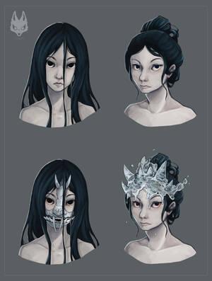Oni Masks 03 by NimeniCanine