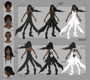 Shahna - Character Sheet by NimeniCanine