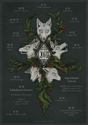 Wolfposter by NimeniCanine