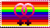 Lesbian Stamp by RavenSerpent