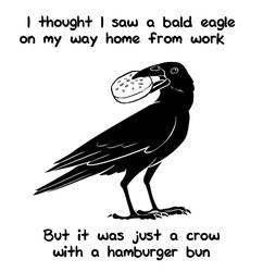 Hamburger Crow by avsaroke