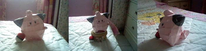 Cleffa: Paper Pokemon by MuffyKat