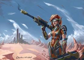 Nanxa Sniper by CharlieWilcher