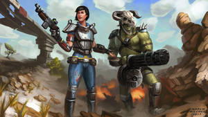 Fallout Wastelanders by CharlieWilcher