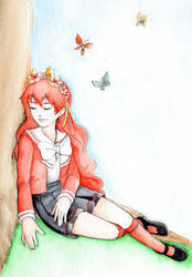 Hikari Shidou - Rayearth by Ka-miragem