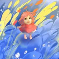 Ponyo by AzuraLine