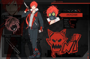 Dp109   Reference Sheet Akagami by AzuraLine