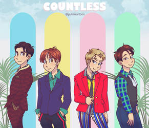 SHINee Countless by Pulimcartoon