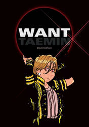 Taemin WANT by Pulimcartoon