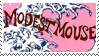 Modest Mouse stamp by RYOKA