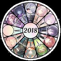 |2018 Art Clock| by TheMysticalPancake