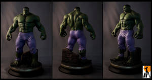 Hulk by AYsculpture