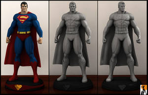 Superman by AYsculpture