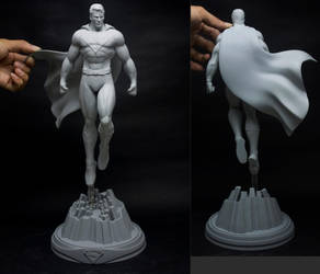 Superman Final Prototype by AYsculpture