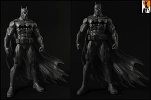 Dont mess with THE BAT by AYsculpture