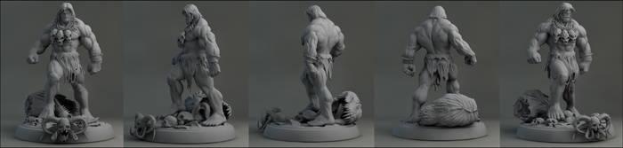 Mark Silvestri Hulk by AYsculpture