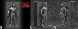 Anatomy of a Terminator by AYsculpture