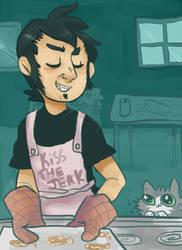 Kitty Cookies by DarkraiLOL