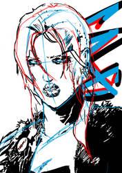 Lara WIP by Yopacaine