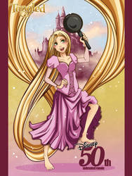 0004-Tangled poster by meshya