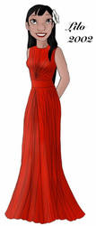 Lilo designer gown by ruletheworldwithsong
