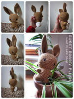 Sweet Bunny Plush by the-carolyn-michelle