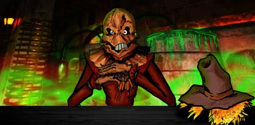 Scarecrow (Batman) by Luisfelipeangeles