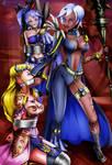 Hyrule Warriors - Captured by Cia by sleepy-comics