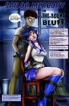 Sailor Mercury in 'The Youma Bluff' - Cover by sleepy-comics