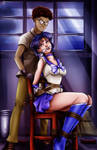 Sailor Mercury - In the Kidnapper's Lair by sleepy-comics