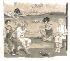 downtime by joolita