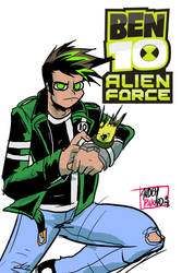 Ben10 redesign by andehpinkard