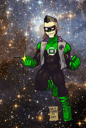 redesign: Green Lantern by andehpinkard