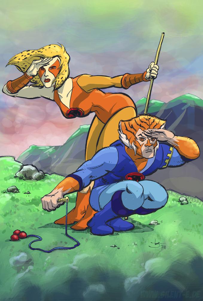Tygra and Cheetara by Abt-Nihil