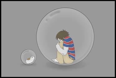 Bubble Boy by 1337penguin