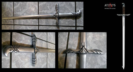 Assassins Creed II Altairs sword by alsquall