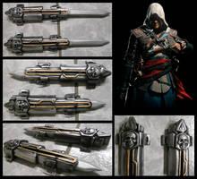 Edward Kenway Hidden Blades by alsquall