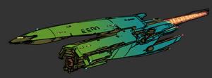 'Fuk-IN' class  corvette by Daemoria