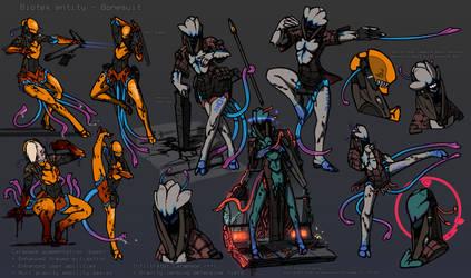 Dynamic Bonesuit by Daemoria